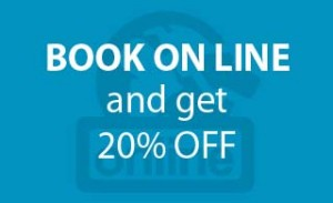 Book online and get 20% off